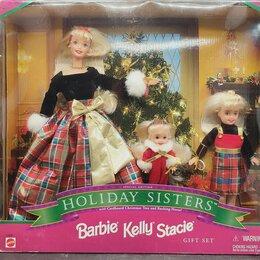 Куклы и пупсы - Барби и сестрёнки, набор, 1998 год, 0
