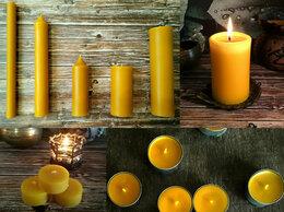 Декоративные свечи - Свечи восковые чайные в гильзе, интерьерные, 0
