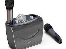 Микрофоны - Колонка многофункциональная с двумя микрофонами…, 0