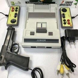 Игровые приставки - Приставка 8 bit Classic 300in1+пистолет, 0
