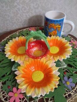 Кружки, блюдца и пары - Набор керамический, 0