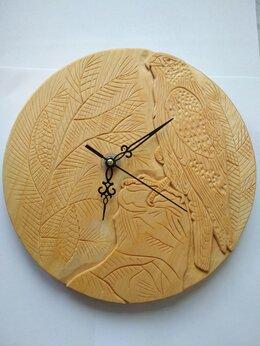 Часы настенные - Часы резные ручной работы, 0
