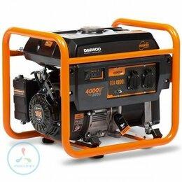 Электрогенераторы - Инверторный бензиновый генератор Daewoo GDA 4800i, 0