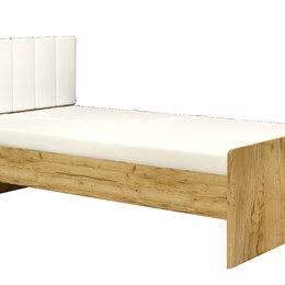 Кровати - Кровать 1200*2000 с мягкой спинкой (МДФ настил) , 0