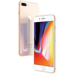 Мобильные телефоны - 🍏 iPhone 8+ 128Gb gold (золотой) , 0