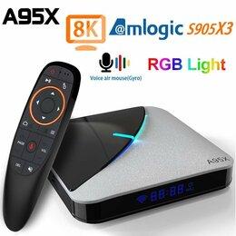 ТВ-приставки и медиаплееры - Smart тв Android A95XF3 4/64 бесплатно под ключ, 0