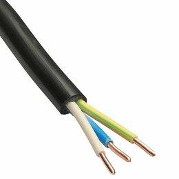 Кабели и провода - Кабель Ввг НГ 3х2,5 Гост, 0