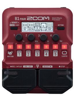 Процессоры и педали эффектов - ZOOM B1 FOUR Процессор мультиэффектов для…, 0