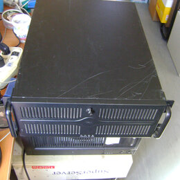 Корпуса - Корпус серверный ATX 4U с блоком питания 500W. , 0