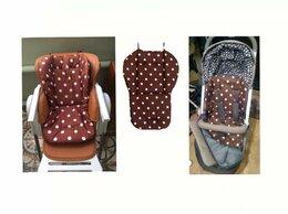 Аксессуары для колясок и автокресел - Новый универсальный чехол - матрас (коричневый), 0