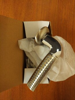 Ручки дверные - Ручка дверная на розетке Palidore A-59HHP, 0