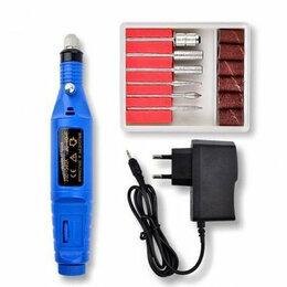 Инструменты для маникюра и педикюра - Аппарат для маникюра Mini Nail Drill  синий, 0