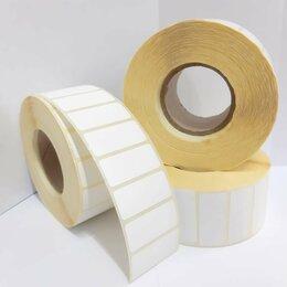 Расходные материалы - Этикетка самоклеющаяся термо 40х18 (1000), 0