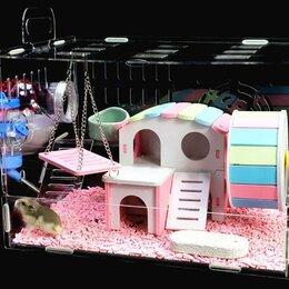 Клетки и домики  - Клетка-домик для хомяка,с наполнением, 0