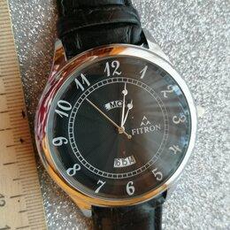 Умные часы и браслеты - Часы мужские,кварцевые.рабочие . календарь.fitron /QC passed .2020 ., 0