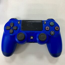 Аксессуары - Джойстик PS4 геймпад DualShock 4 синий, 0