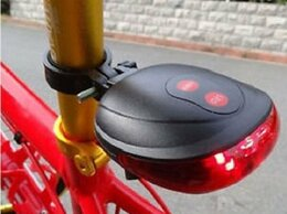 Фонари - Задний Laser+ LED велофонарь, 0