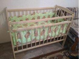 Кроватки - кроватка детская с матрасом + постельные…, 0