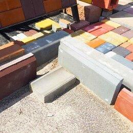 Тротуарная плитка, бордюр - Бордюр садовый, 0