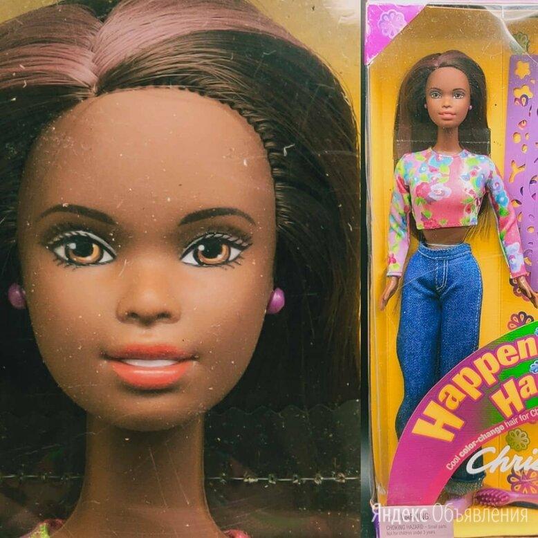 Барби Негритянка, Happenin Hair, 1999 год по цене 2800₽ - Куклы и пупсы, фото 0