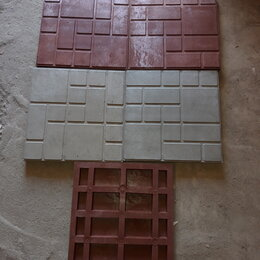 Тротуарная плитка, бордюр - Плитка полимерпесчаная дачка 330х330  250х250, 0
