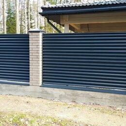 Заборчики, сетки и бордюрные ленты - Забор жалюзи, 0