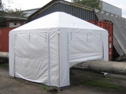 Тенты строительные - ПАЛАТКА СВАРЩИКА 3×3 м (ТАФ), 0