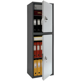 Шкафы для документов - Шкаф бухгалтерский Aiko SL-150/2T, 1490*460*340,…, 0