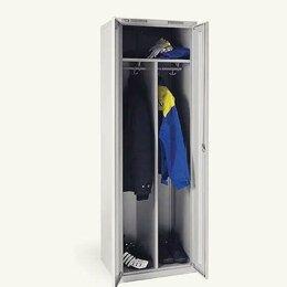 Мебель для учреждений - Шкаф металлический для одежды , 0