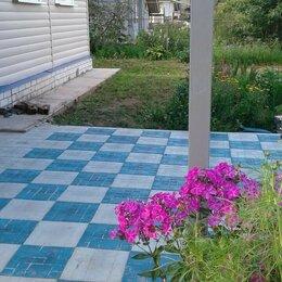 Тротуарная плитка, бордюр - Плитка полимерпесчаная для дорожек , 0