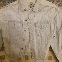 Куртки - Винтажная джинсовая куртка Gold Jeans на болтах, 0
