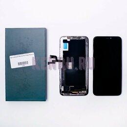 Дисплеи и тачскрины - Дисплей iPhone Х черный в сборе, 0