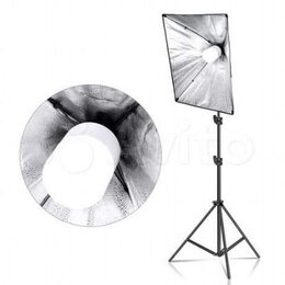 Лампочки - Лампа студийная постоянный свет LED 30W E27 6500K, 0