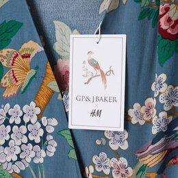 Платья - Платье H&M цветочный принт GP&JBaker летнее ткань вискоза-креп, 0
