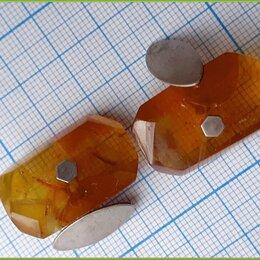 Запонки и зажимы - запонки ЯНТАРНЫЕ янтарь серебро 875 8,1гр 4КМ 1974, 0