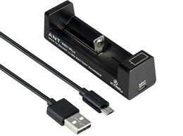 Зарядные устройства для стандартных аккумуляторов - Зарядное устройство Xtar ANT MC1 Plus LCD дисплей, 0