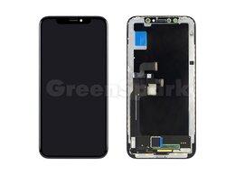 Дисплеи и тачскрины - Дисплей для iPhone X + тачскрин черный с рамкой…, 0
