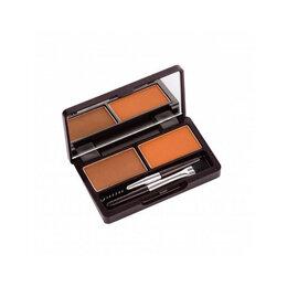 Для глаз - Пудра для бровей 01 The Saem Eco Soul Eyebrow Kit 01 Brown 2*2.5гр, 0