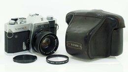 Пленочные фотоаппараты - Фотоаппарат Yashica TL Electro с объективом…, 0