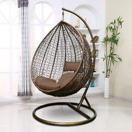 Плетеная мебель - Подвесное кресло AFM-218A Brown, 0