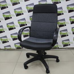 Компьютерные кресла - Кресло компьютерное КР58 ткань серая/кз черный, 0