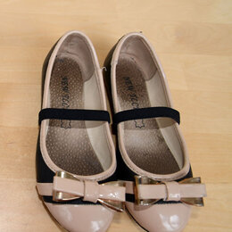 Балетки, туфли - Туфли-балетки детские, 25 размер, 0