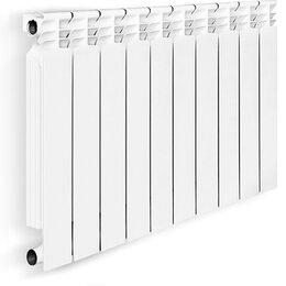 Радиаторы - Радиатор алюминиевый литой Oasis 500/80 10 секций, 0