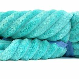 Пледы и покрывала - Плед Велсофт 1,5 сп. жаккард/тиснение, п/э, Премиум (сумка), 0