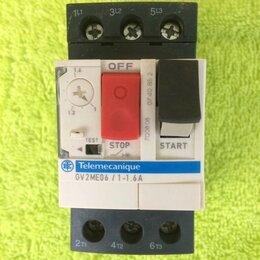 Электроустановочные изделия - Выключатель 3-х фазный, ток 1-1,6А, , 0