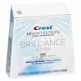 Полоскание и уход за полостью рта - Отбеливания зубов Crest Whitestrips 3D Brilliance, 0