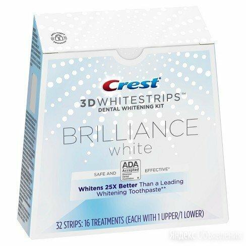 Отбеливания зубов Crest Whitestrips 3D Brilliance по цене 3400₽ - Полоскание и уход за полостью рта, фото 0