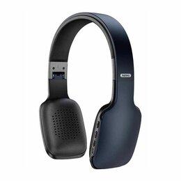 Наушники и Bluetooth-гарнитуры - Наушники накладные Bluetooth REMAX RB-700HB черный, 0