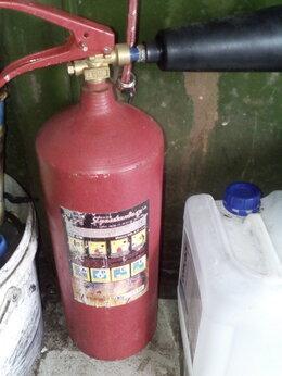 Огнетушители - огнетушитель углекислотный бу, 0