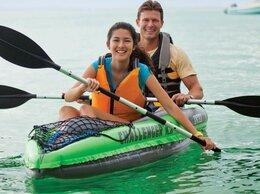 Надувные, разборные и гребные суда - Надувная байдарка Challenger K2 Kayak, 0